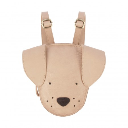 Donsje Kapi Classic Backpack | Dog Light Rust Leather
