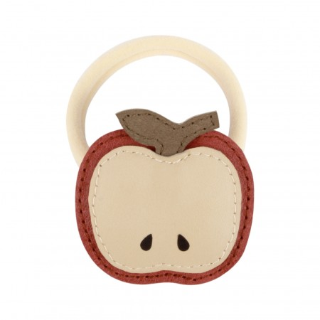 Donsje Nanoe Fruit Hairclip | Apple Scarlet Classic Leather