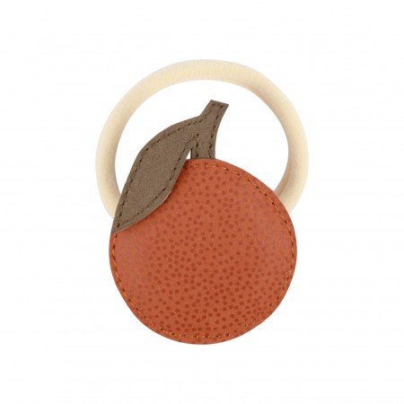 Donsje Nanoe Fruit Hairclip | Orange Maple Dotted Nubuck (Novelties)