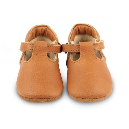 Donsje Elia Lining Toast Grain Leather (Footwear)