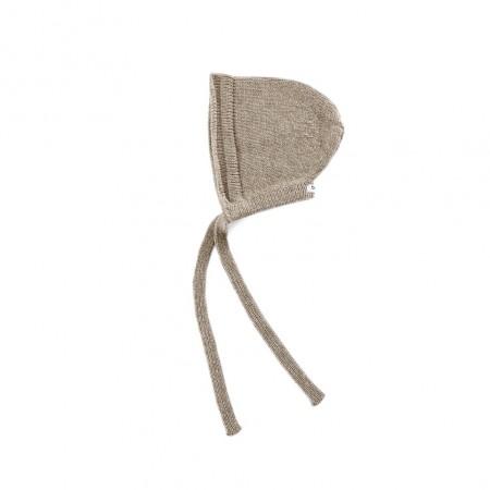 Donsje Fenja Baby Hat Beige Melange (Hats)