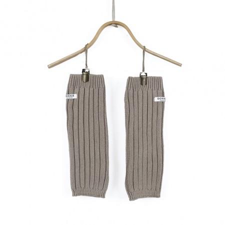 Donsje Lina Legwarmers Taupe (Socks)