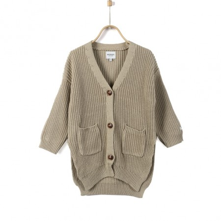 Donsje Macky Cardigan Stone Beige (Sweaters)