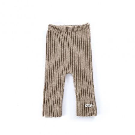 Donsje Olle Trousers Beige Melange (Pants / Leggins)