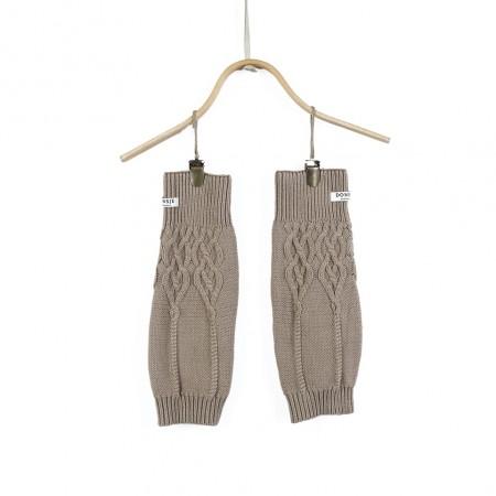 Donsje Suzi Legwarmers Light Taupe (Socks)