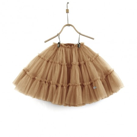 Donsje Tess Skirt Toffee Metallic (Skirts)