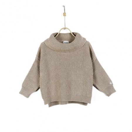 Donsje Yara Sweater Light Mocha Melange (Sweaters)