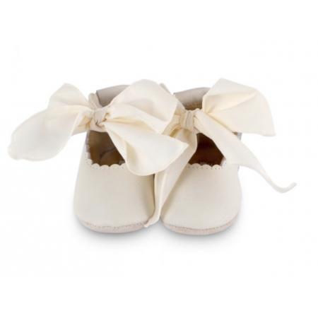 Donsje Lieve Lining Off White Leather + Cream Cotton (Footwear)
