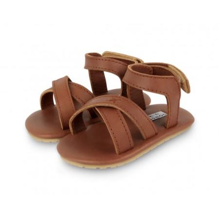 Donsje Giggles Cognac Classic Leather 18-24m (Footwear)