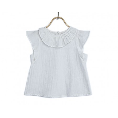 Donsje Indi Blouse Star White 2-3y (Blouses)