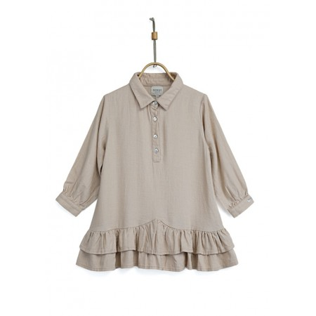 Donsje Juul Dress Beige 2-3y (Dresses)
