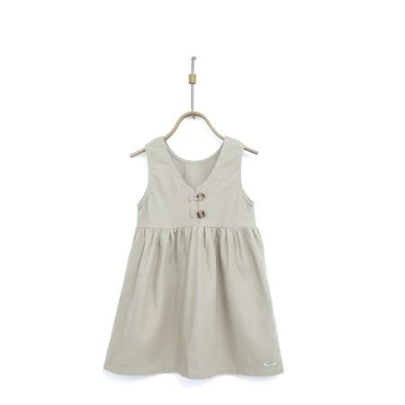 Donsje Lisa Dress Ecru 5-6y (Dresses)