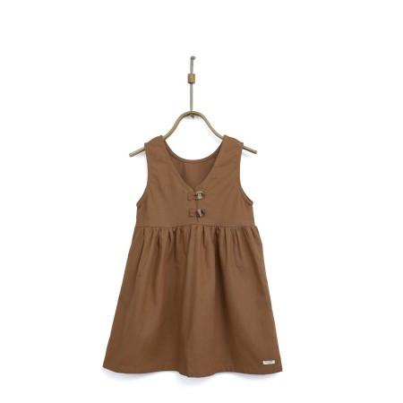 Donsje Lisa Dress Rust 5-6y (Dresses)