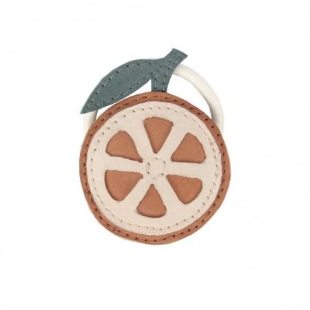Donsje Nanoe Fruit Hair Tie Grapefruit (Hair accessories)