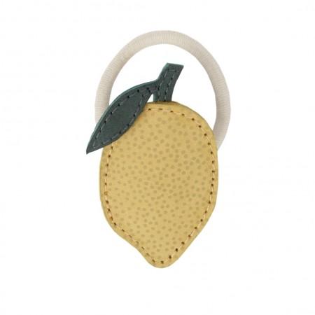 Donsje Nanoe Fruit Hair Tie Lemon One size (Hair accessories)