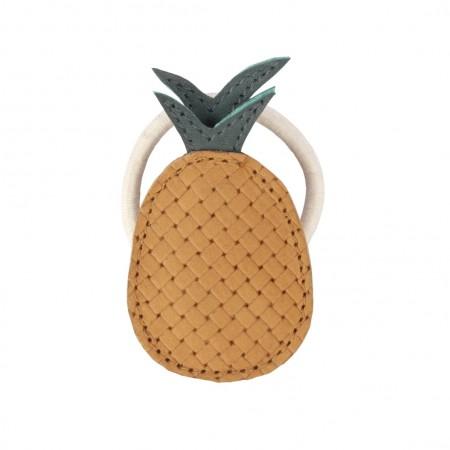 Donsje Nanoe Fruit Hair Tie Pineapple One size (Hair accessories)
