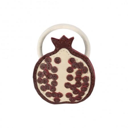Donsje Nanoe Fruit Hair Tie Pomegranate One size (Hair accessories)