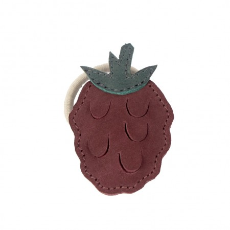 Donsje Nanoe Fruit Hair Tie Raspberry (Hair accessories)