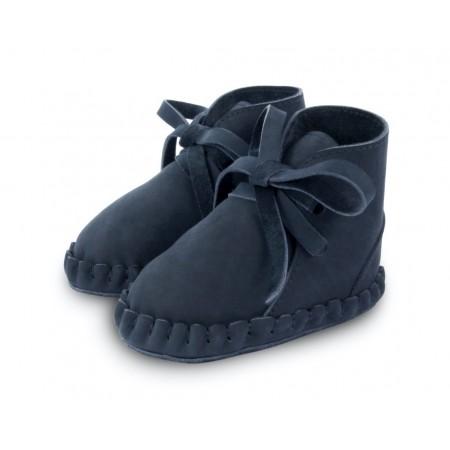 Donsje Pina Navy Nubuck 12-18m (Footwear)