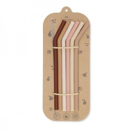 Konges Sløjd 6 Pack Straws Girl (Cutlery)