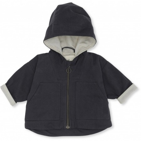Konges Sløjd Bille Jacket Deux Blue Ink 6-9 M (Outdoor Clothing)