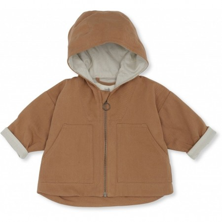 Konges Sløjd Bille Jacket Deux Tan  12-18 M (Outdoor Clothing)