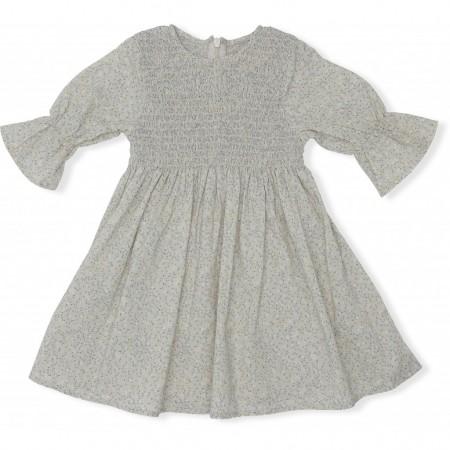 Konges Sløjd Emma Dress Melodie, Lemonade  12-18 M (Dresses)