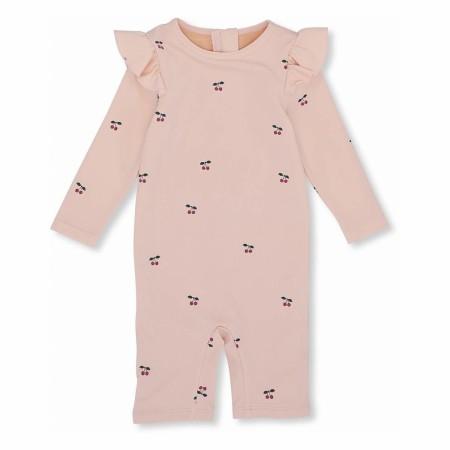 Konges Sløjd Girl UV Suit Cherry/Blush 80/86 (Swimwear)