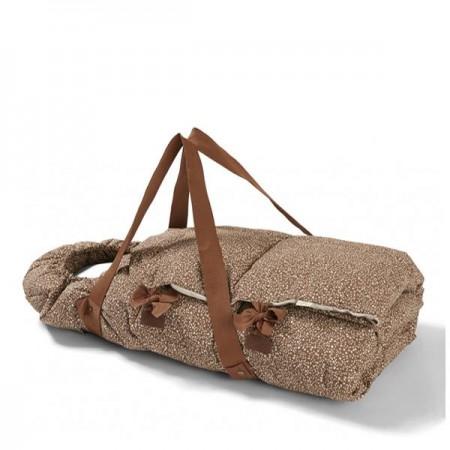 Konges Sløjd Nemuri Sleepingbag, Blossom Mist Caramel (Sleeping bags)