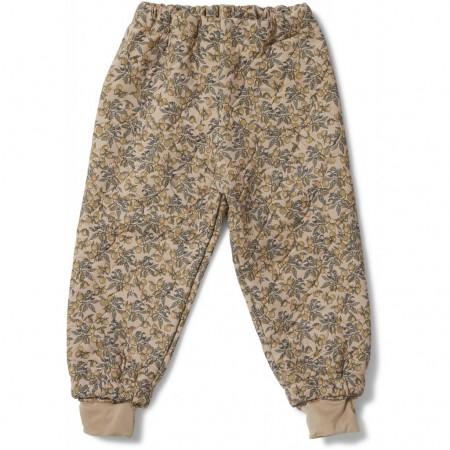 Konges Sløjd Thermo Pants Jersey, Orangery Beige (Outdoor Clothing)