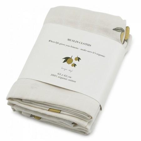 Konges Sløjd 3 Pack Muslin Cloth (Muslin cloths)