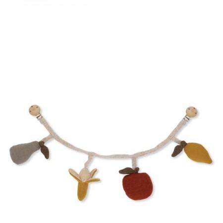 Konges Sløjd Fruit Pram Chain (Chanching mat)
