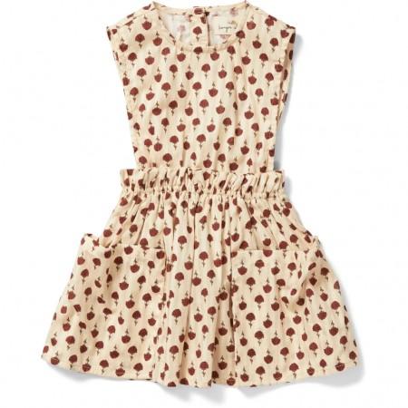 Konges Slojd Cacia Spencer Dress Poppyflower Red