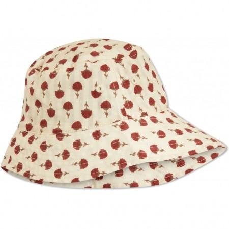 Konges Slojd Acacia Sunhat Poppyflower Red