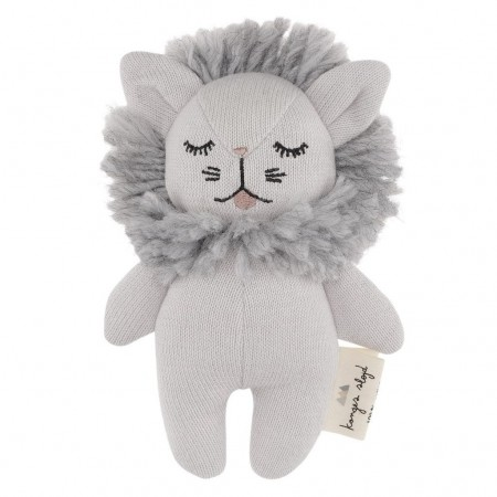 Konges Sløjd Mini Lion Grey Melange (Soft toys)