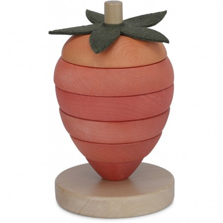 Konges Sløjd Stacking Fruits Strawberry (Educational toys)