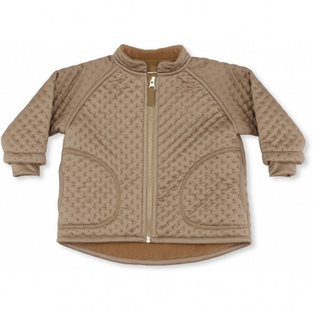 Konges Sløjd Thermo Jacket Deux Tan 12-18 M (Outdoor Clothing)