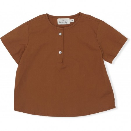 Konges Sløjd Shirt Visno Tee Caramel 24-36 M (Shirts)