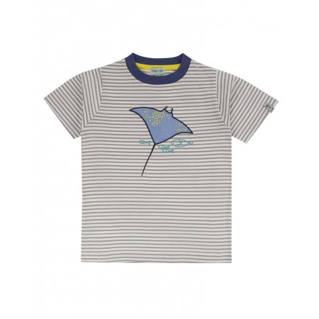 Lilly + Sid Applique T- Stingray 2-3 Years (Shirts)