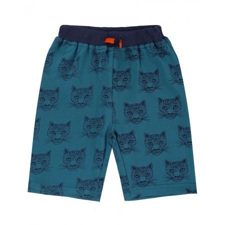 Lilly + Sid Cheetah Sweat Shorts 4-5 Years (Shorts)