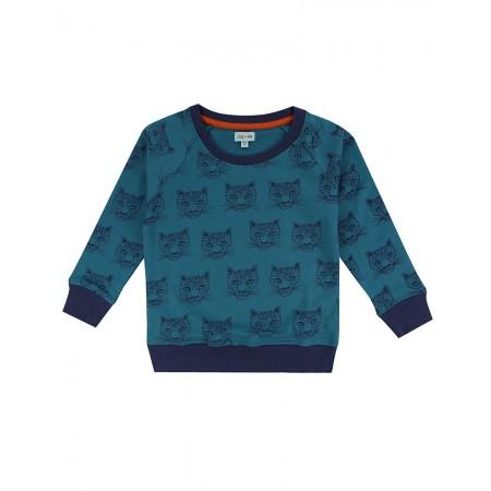 Lilly + Sid Cheetah Sweatshirt 5-6 Years (Sweaters)