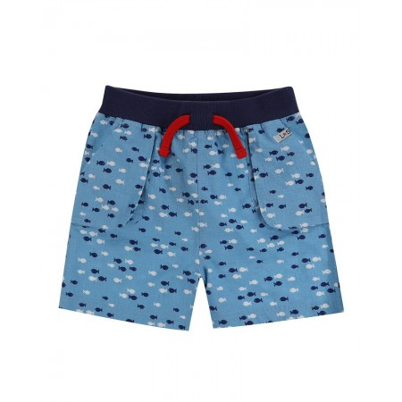 Lilly + Sid Fish Print Short 2-3 Years (Shorts)