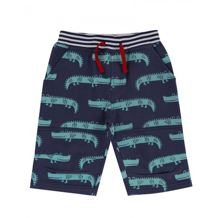 Lilly + Sid Printed Board Shorts- Crazy Croc 5-6 Years (Shorts)