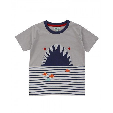Lilly + Sid Shark Character T 2-3 Years (Shirts)