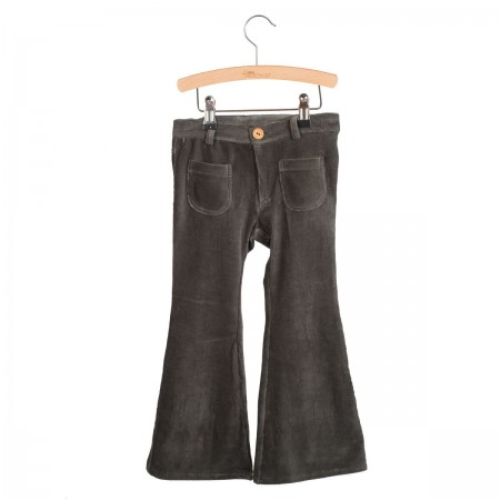 Little Hedonist 4 Pocket Flared Pants Bay Pirate Black