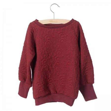 Little Hedonist Long Cuffed Sweater Celie Cordovan (Sweaters)