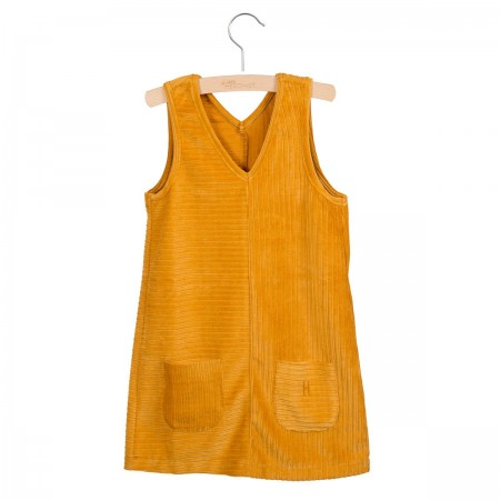Little Hedonist Pinafore Dress Nikki Narcissus (Dresses)