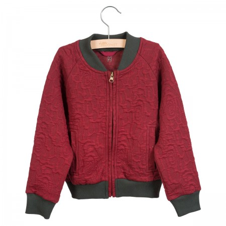 Little Hedonist Bomber Jack Rae Cordovan (Sweaters)