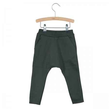 Little Hedonist Baggy Pants Lou Pirate Black 86-92 (Pants)