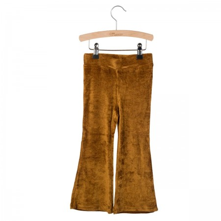 Little Hedonist Flared Legging Monroe Gold 110-116 (Pants)